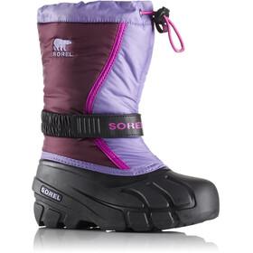 Sorel Flurry Boots Children Purple Dahlia/Paisley Purple